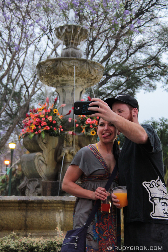 Rudy Giron: AntiguaDailyPhoto.com &emdash; Selfies in Antigua Guatemala