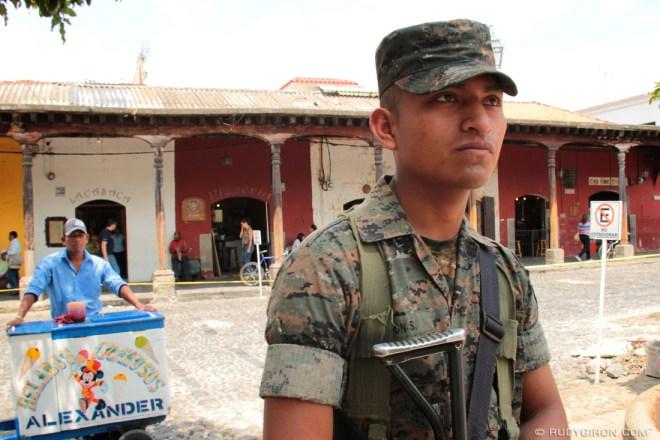 Rudy Giron: AntiguaDailyPhoto.com &emdash; Guatemalan Portrait: The Soldier