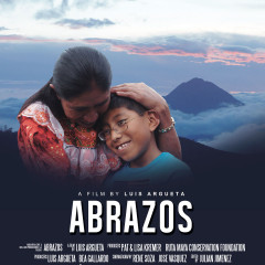 Poster for the film ABRAZOS by Luis Argueta