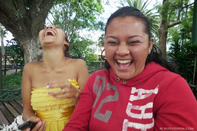 Rudy Giron: Antigua Guatemala &emdash; Laughing Guatemalan Girls