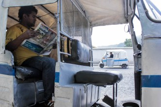 Foundry Project: A Day in the Life of a Tuc Tuc Taxi Driver in Antigua Guatemala by Vera Narvaez-Lanuza