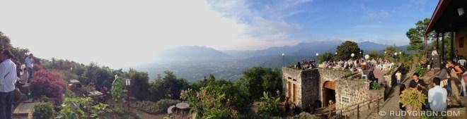 Rudy Giron: Antigua Guatemala &emdash; Panoramic Vista from San Cristóbal El Alto