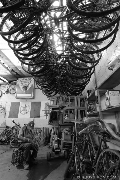 Rudy Giron: Antigua Guatemala &emdash; Vintage Bicycle Lot in Antigua Guatemala
