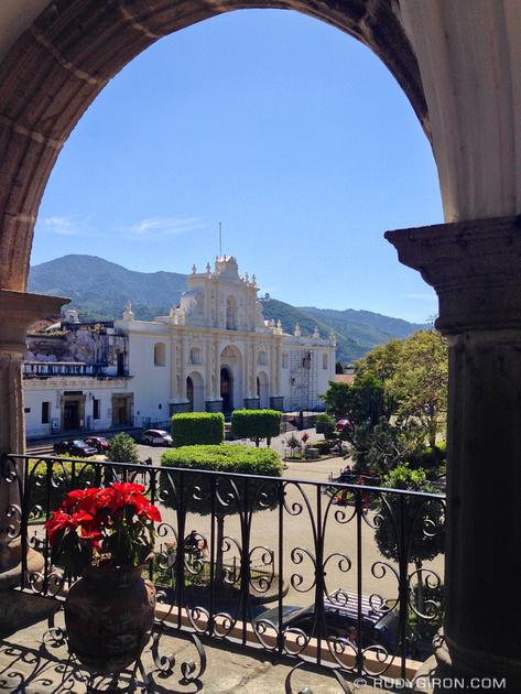 Rudy Giron: Antigua Guatemala &emdash; Framed Cathedral of Antigua Guatemala