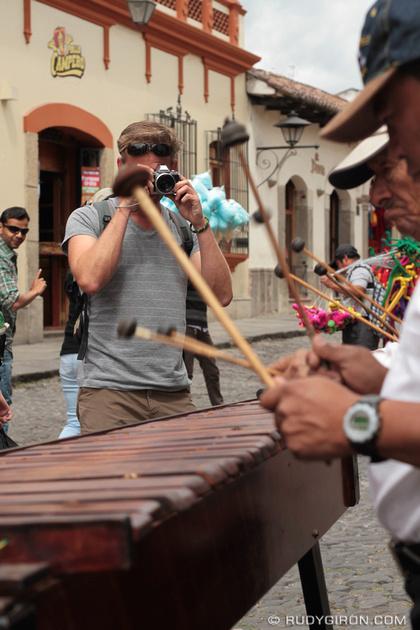 Rudy Giron: Antigua Guatemala &emdash; Marimba Day in Guatemala