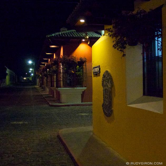 Rudy Giron: Instagrams &emdash; Antigua Guatemala by Night