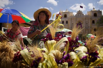 Palm Sunday in Antigua Guatemala © Rudy Giron