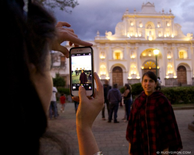 Rudy Giron: Antigua Guatemala &emdash; Antigua Guatemala's typical I wish you were here picture © Rudy Giron