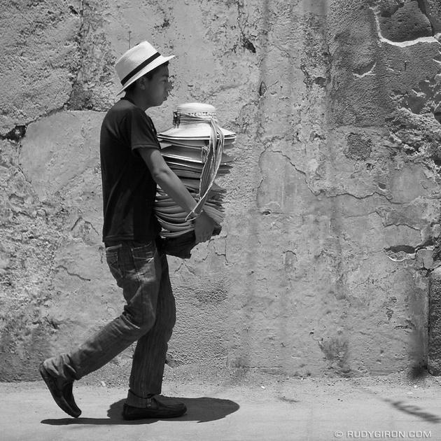 Rudy Giron: Antigua Guatemala &emdash; Hats For Sale, Antigua Guatemala © Rudy Giron