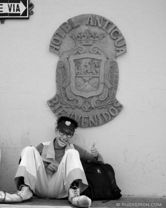 Welcome to Antigua Guatemala © Rudy Giron