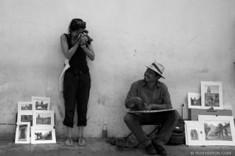 Visual Duel in Antigua Guatemala © Rudy Giron