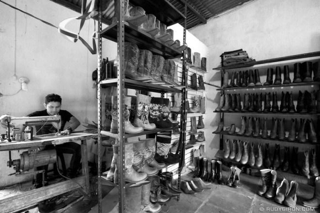 Rudy Giron: Antigua Guatemala &emdash; The Bootmaker from Pastores, Guatemala