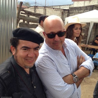 © Behind The Scenes of the Productions of Bizarre Foods with Andrew Zimmern in Antigua Guatemala by Rudy Giron