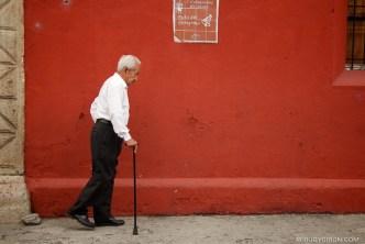 © Ruta del peregrino in La Antigua Guatemala by Rudy Giron