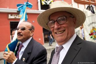 Parade of Insol in Antigua Guatemala