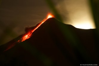 Guatemala's Volcano Fuego Night Show by Rudy Giron