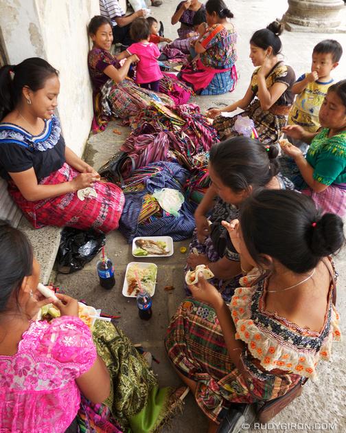 Rudy Giron: Antigua Guatemala &emdash; Lunch Time in La Antigua Guatemala