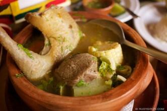 © Guatemalan Food: Sancocho from 7 Caldos by Rudy Giron