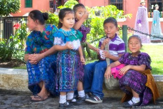 © The Colours and Smiles from Antigua Guatemala by Rudy Giron