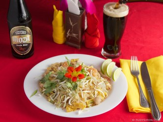 © Pad Thai From Café Flor, Antigua Guatemala by Rudy Giron