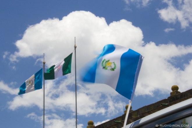 Rudy Giron: Antigua Guatemala &emdash; September Days are Flag Days