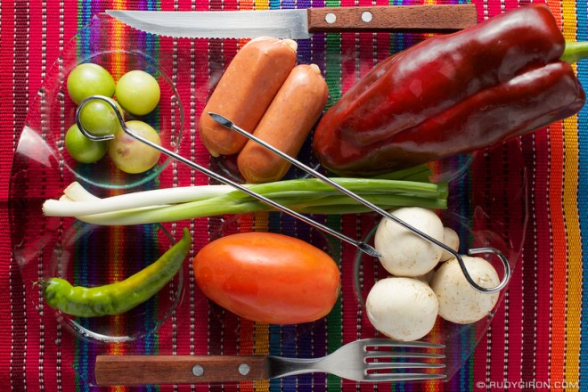 Rudy Giron: Guatemalan gastronomy &emdash; It's Shish Kebab Time