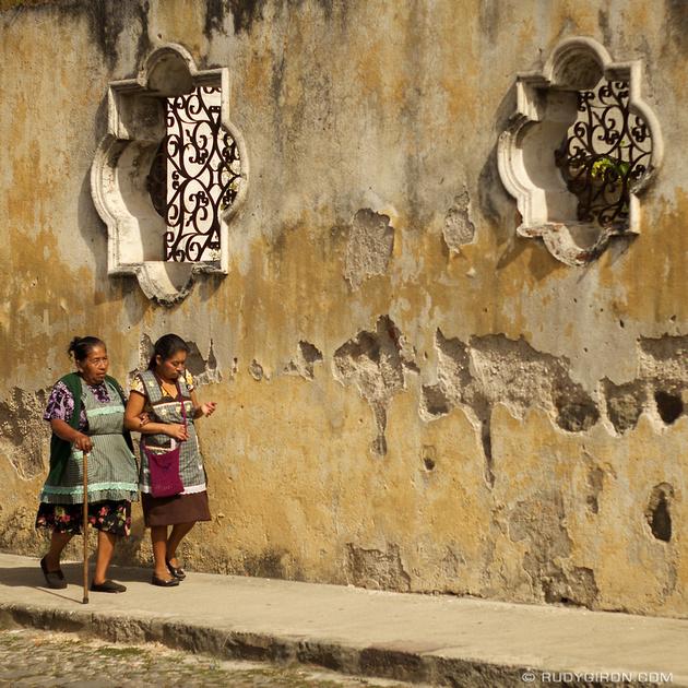 Rudy Giron: Instagrams &emdash; Vamos por el pan, Antigua Guatemala