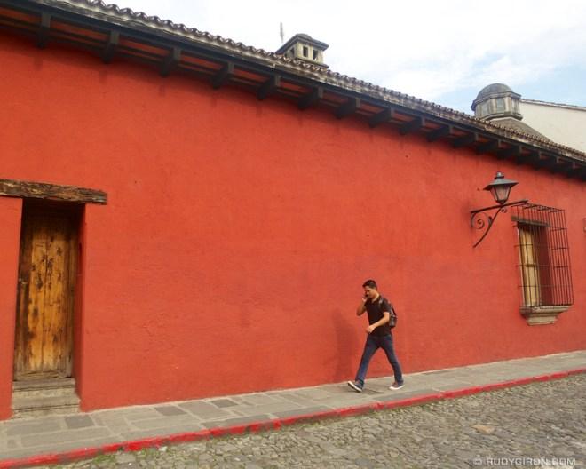 Rudy Giron: Antigua Guatemala &emdash; Antigua Color Palette: Rojo