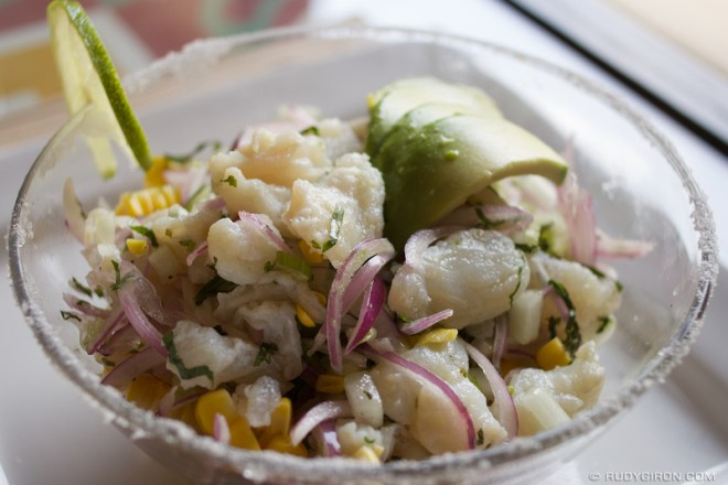 Rudy Giron: Food Photography &emdash; Ceviche peruano from Los 7 Caldos