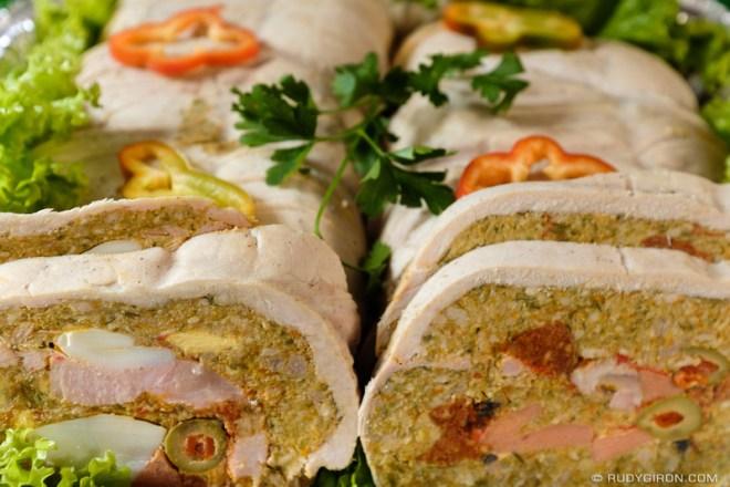 Rudy Giron: Antigua Guatemala &emdash; Lomo Relleno Dinner for New Year's Eve