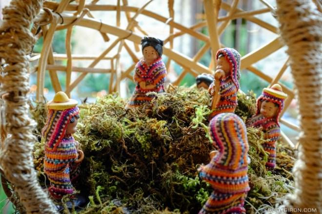 Rudy Giron: Antigua Guatemala &emdash; Maya Nativity Scene