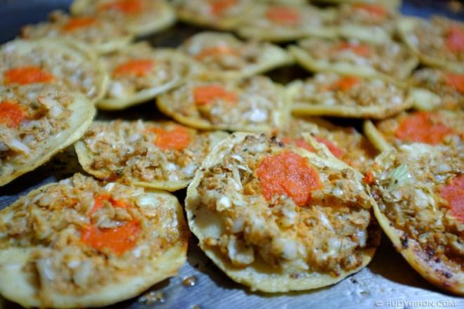 Rudy Giron: Guatemalan gastronomy &emdash; Garnachas quetzaltecas at the town fair of Ciudad Vieja