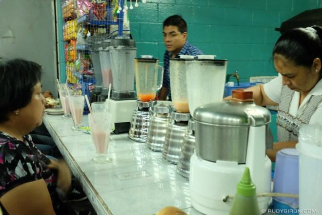 Rudy Giron: Antigua Guatemala &emdash; Licuado Stands Inside the Mercado, Antigua Guatemala