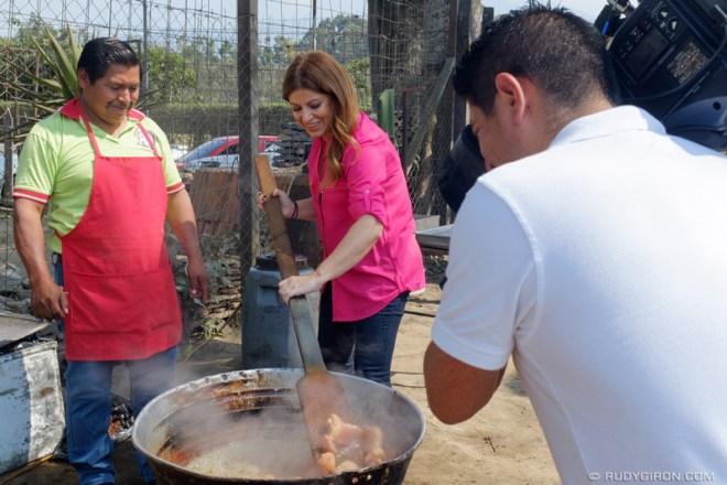 "Rudy Giron: Antigua Guatemala &emdash; ""Despierta América"" TV Morning Show Visits Antigua Guatemala 4"