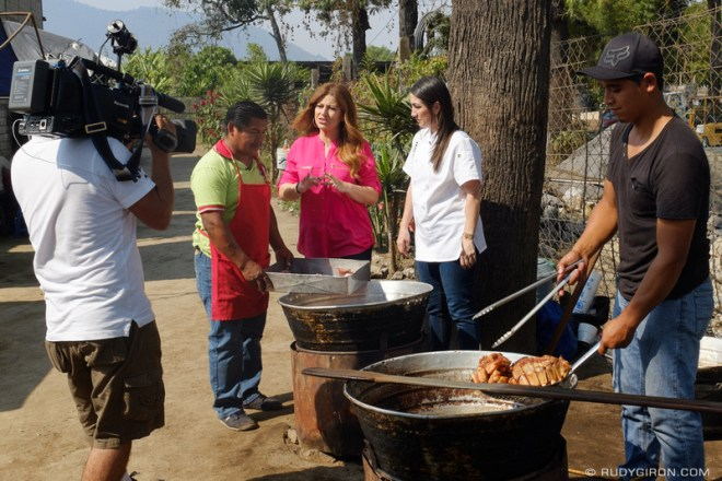 "Rudy Giron: Antigua Guatemala &emdash; ""Despierta América"" TV Morning Show Visits Antigua Guatemala 1"