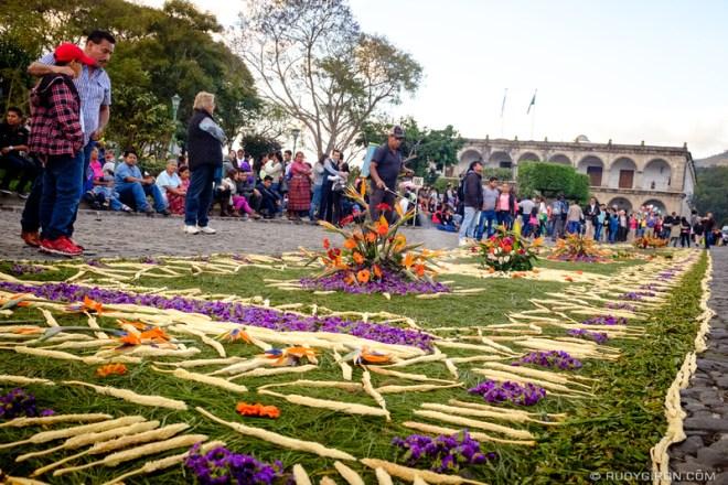 Rudy Giron: Antigua Guatemala &emdash; Lenten Carpets of Antigua Guatemala