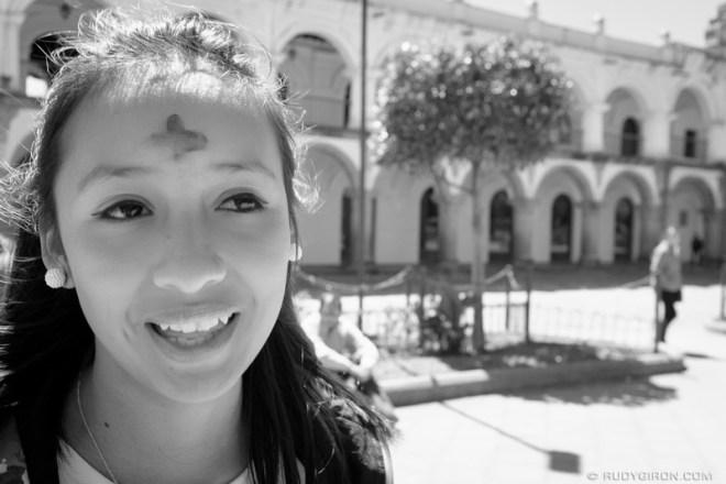 Rudy Giron: Antigua Guatemala &emdash; Ash Wednesday Cross 1