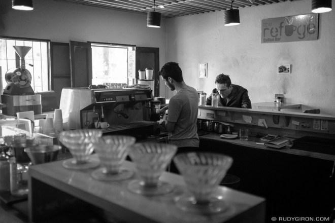 Rudy Giron: Antigua Guatemala &emdash; The Refuge Coffee Shop