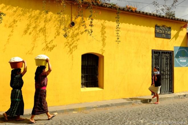 Rudy Giron: Antigua Guatemala &emdash; Cornmeal dough to make tortillas