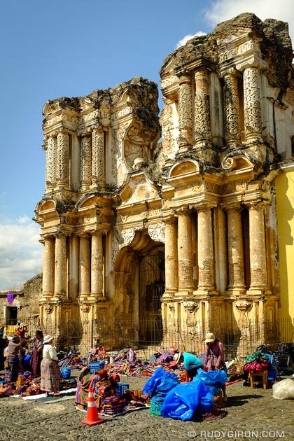 Rudy Giron: Antigua Guatemala &emdash; El Carmen Ruins in Antigua Guatemala