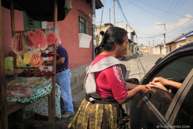 Rudy Giron: Antigua Guatemala &emdash; Fresh-fruit Drive-Thru Stands