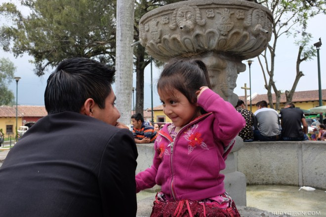 Rudy Giron: Antigua Guatemala &emdash; Bonding time at Fuente de La Merced