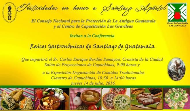 Gastronomic Roots of Santiago de Guatemala