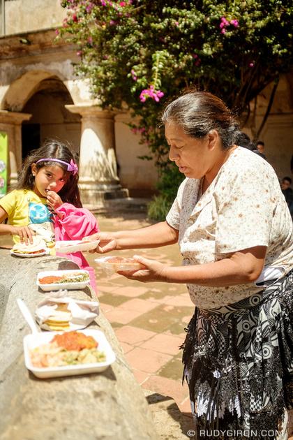 Rudy Giron: Antigua Guatemala &emdash; Expo degustación comidas guatemaltecas