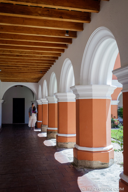Rudy Giron: Antigua Guatemala &emdash; The Arches and Repetition of the Architecture of Antigua Guatemala
