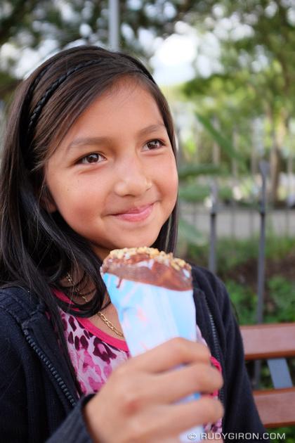 Rudy Giron: Antigua Guatemala &emdash; Enjoying Ice Cream in Antigua Guatemala