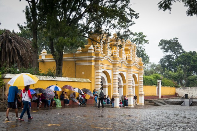 Rudy Giron: Antigua Guatemala &emdash; The Last Rains of 2016