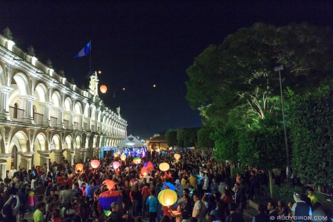 Rudy Giron: Antigua Guatemala &emdash; Message to the sky 2016