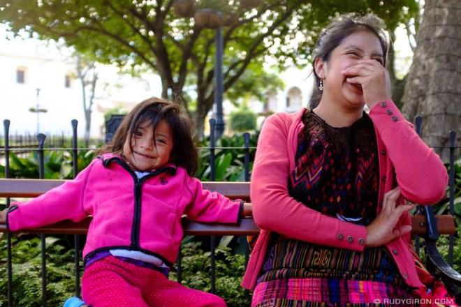 Rudy Giron: Antigua Guatemala &emdash; Guatemalan smiles make me happy