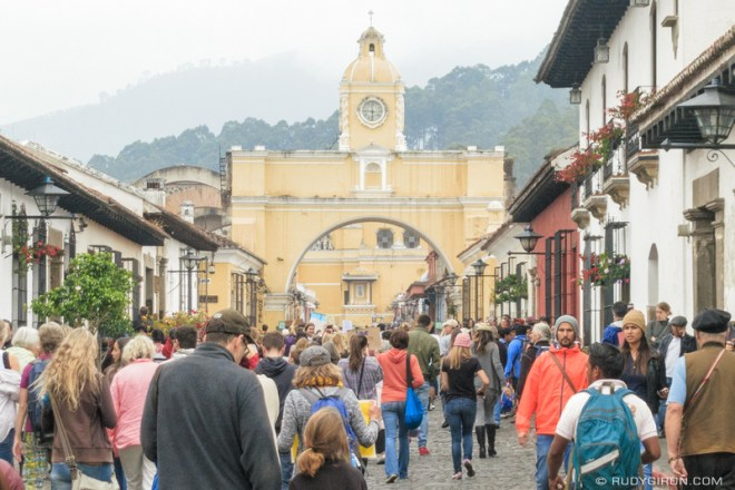 Rudy Giron: Antigua Guatemala &emdash; Women's March in Antigua Guatemala 2